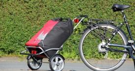 Praktischer Shopper zum Anhängen ans Fahrrad