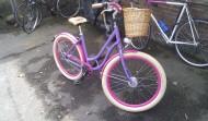 Hat was, das Fahrrad
