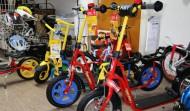 Hier gibts sogar Roller fürs Kind